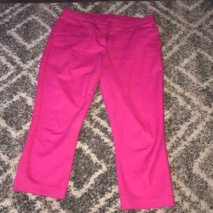 Women's pink slacks